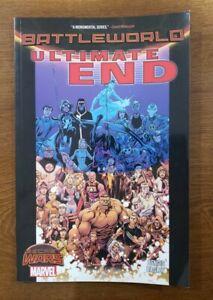 Ultimate End: Battleworld Marvel Comics TPB GN SC OOP Secret Wars Bendis, Bagley