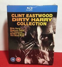 Clint Eastwood Dirty Harry Collection(Blu-ray Disc,2013,5-Disc Set)NEW-Free S&H