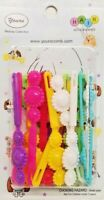 Yours Barrettes Hair MULTI COLOR Flowers Girl Toddler Snap Pin Clips Braid 20 Pc