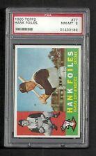 1960 Topps Hank Foiles #77 PSA 8 NM-MT