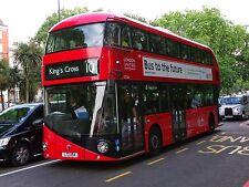 New bus for London - Borismaster LTZ1154 London United 6x4 Quality Bus Photo