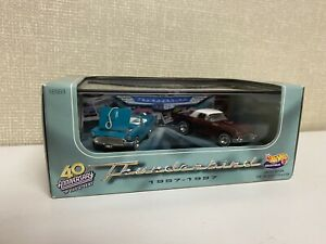 Hot Wheels Ford Thunderbird's 40th Anniversary 2 Seat 1957- 1997 Limited EdItion