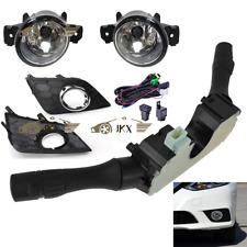 For Nissan Sentra 2016 17 18 2019 Bumper Bezels+Fog Lights+Harness + Switch Kit