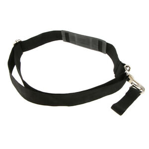 Durable Padded Waist Pack Strap Replacement Tool Shoulder Strap Metal Hook