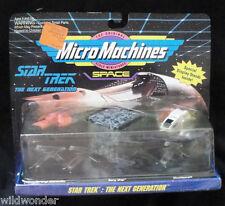 MICRO MACHINES STAR TREK NEXT GEN (FERENGI/BORG/SHUTTLE) 1993