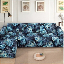 Tropical Plant Leaf Stretch Couch Sofa Cover Slipcover Lounge 1-4 Seater new