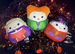 "Hocus Pocus 5"" Squishmallow Plush Sanderson Sisters Disney Halloween 2021 Set 🧹"