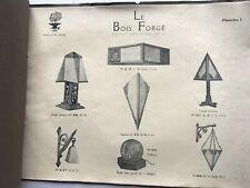 catalogue le bois forge art deco lampe lustre miroir applique design