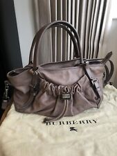 **Burberry Leather Tote/ bag - V Good Condition **