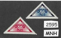 #2595  Stamp set / MNH Third Reich issues / Personal delivery Germany Occupation