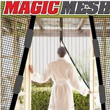 Magic Mesh Instant Net Magnetic Screen Anti Mosquito Bug Door Curtain Hands Free