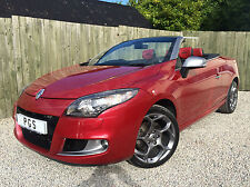 """2011/11 RENAULT MEGANE COUPE CONVERTIBLE 2.0DCI 160BHP GT LINE TOMTOM """"ONLY27K"""""""