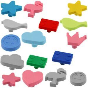 Kindermöbelknopf Babymöbel Kindermöbel-Griff Gummiknopf für das Kinderzimmer