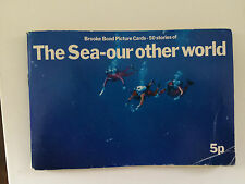 Vintage 70s Brooke Bond Tea Cards Album 50 Stories The Sea-Our Other World