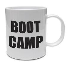 Boot Camp-Fitness/Ejercicio/salud/Novedad/Taza de Cerámica Idea Regalo Divertido
