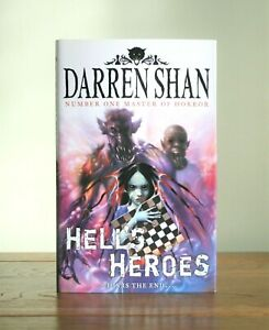 Hell's Heroes by Darren Shan (Demonata Book 10 - 2009 hardback 1st) New
