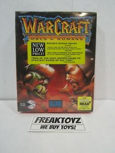 WarCraft: Orcs & Humans BLIZZARD Entertainment, BRAND NEW FACTORY SEALED