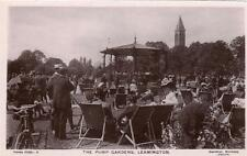The Pump Gardens Leamington Spa unused RP old pc Davidson Bros