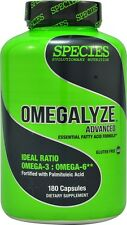 Species OMEGALYZE Omega 3 Fish Oil 900mg EPA DHA 180 softgels Heart BRAIN JOINTS