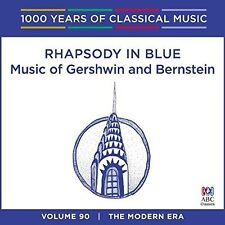 Music Of Gershwin And Bernstein - 1000 Years Of Classical Music Vol. 90 [CD]