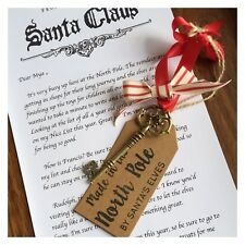 Personalised Christmas Santa Letter With Magic Key & Tag