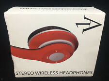 Stereo Wireless Head Phones New in Box 1 Voice NYC Black 027132941490 1V HP 16