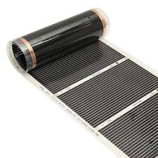 50CMx3M 220V Far Infrarouge Plancher Chauffant Film Verre Carbone Fibre