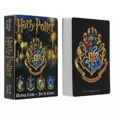 Harry Potter Playing Game Cards Hogwarts House Collection Badges Crests 2 styles