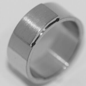 Unique Big Mens Womens Band Ring Stainless Steel Rings Rings Jewelry Size 11