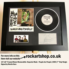 More details for depeche mode people are people *signed martin gore* 7