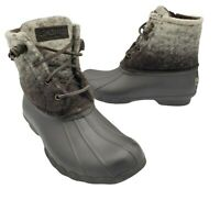 Sperry Top-Sider Saltwater Duck Boot Womens Wool/Rubber 7M
