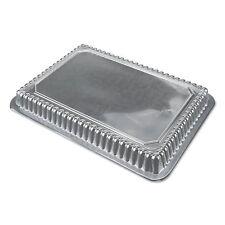 Durable Packaging Dome Lids, 7 15/16w x 5 7/16d x h, Clear, 500/Carton P250500