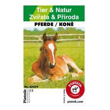Piatnik 421129 - Quartett Tier & Natur Pferde