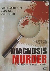 Diagnosis Murder (DVD, 2007) Christopher Lee, Jon Finch, Judy Geeson