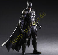 "Play Arts Kai Batman Action Figure Justice League Tactical Suit 11""PVC Model Toy"