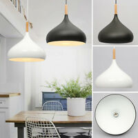 Wooden Light Chandelier Pendant Lighting Ceiling Fixture Lamp Shade Lampshade UK
