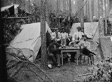 Union Army 114th PA Infantry Camp - Petersburg, VA - 8x10 US Civil War Photo