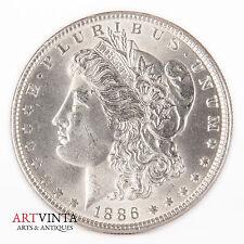 1886 morgan one dólares Silver moneda de plata unidos américa coin Liberty MS? errors