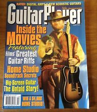 April 1997 GUITAR PLAYER Magazine Issue 328 Vol 30 No 4  GUITAR IN THE MOVIES