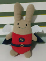Trousselier Rabbit with Starry Cape & Wings Red & Blue Plush Toy 26cm Tall!