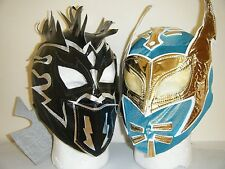 SIN CARA & KALISTO CHILDREN KIDS WRESTLING MASK FANCY DRESS UP WWE LUCHA DRAGONS