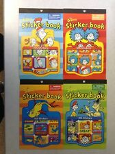 New Lot Of Dr. Seuss Sticker Books Each Book Contains 105 Stickers