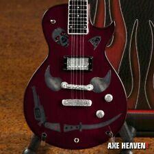 KEITH RICHARDS - 1981 Zemaitis Macabre 1:4 Scale Replica Guitar ~Axe Heaven~