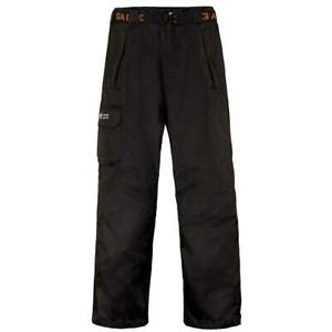 Black Grundens Weather Watch Waterproof Sport Fishing Rain Pants Trousers Gage