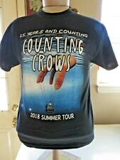 New 2018 Counting Crows 25 Years and Counting Concert Tour (Med) T-Shirt