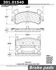 Centric Parts 301.01540 Front Premium Ceramic Brake Pads