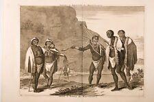 Dapper Armes et habits des Hottentots 17°EME