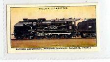 (Jr391-100)Wills,Railway Engines,Express Locomotive Paris-Orleans-Midi,1936#17