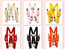 Kid Boy Girl Suspenders, Cute suspenders and 6 colors