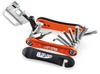 Herramienta llave multifuncion 18 con tronchacadenas bici bicicleta TB-FD20-ORA